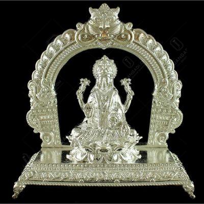 Silver Gods Idols With Arch