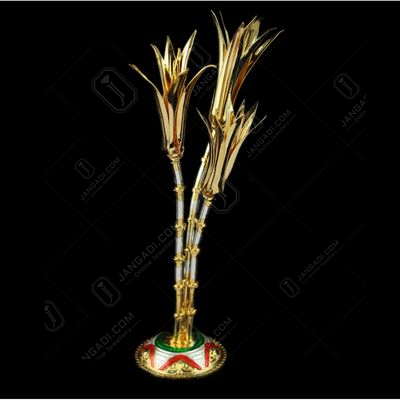 Gold Plated Sugarcane Tree