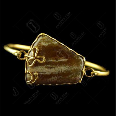 Silver Plated Fancy Design Peruvian Opal Stone Bracelets