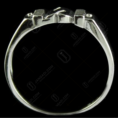 Silver Fancy Design Casual Rings
