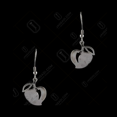 Silver Gold Plated Fancy Design Hanging Earrings