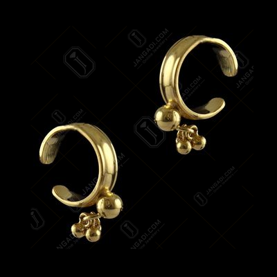 Gold Plated Bali Earrings