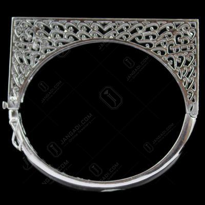 Silver Zircon Stone Bracelet