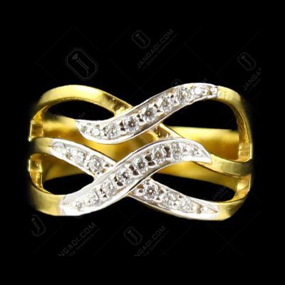 Gold Plated Zircon Stone Casual Wear Rings