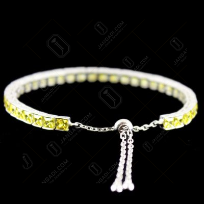 Zircon Stone Party Wear Channel Bracelets
