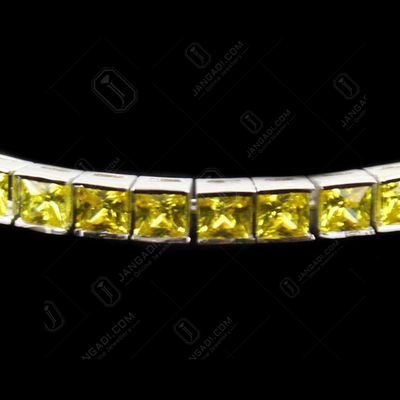 Zircon Stone Party Wear Channel Bracelets