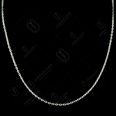 Casual Wear Silver Chain