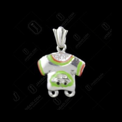 Silver Baby Dress Casual Pendant