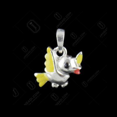 Silver Bird Casual Pendant