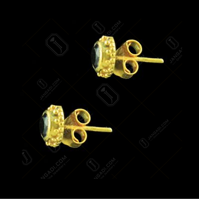 GOLD PLATED CZ EARRINGS