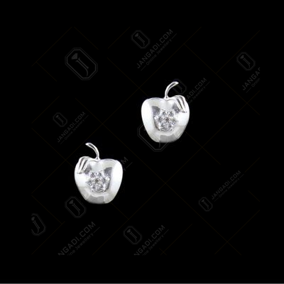 BABY APPLE EARRINGS