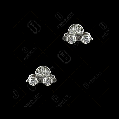 STERLING SILVER CAR EARRINGS