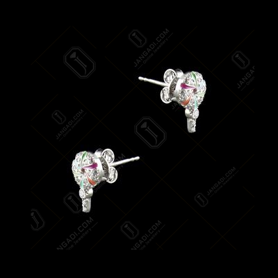 STERLING SILVER CANDY EARRINGS