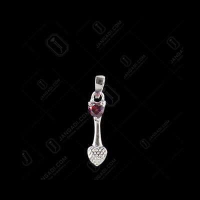 RED SWAROVSKI HEART ARROW EARRINGS