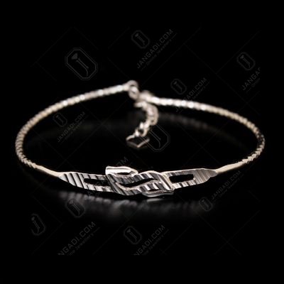 STERLING SILVER FLEXIBLE BANGLE