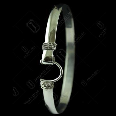 Silver Mens Bracelet