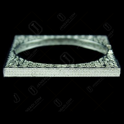 Zircon Stone Square Bangle