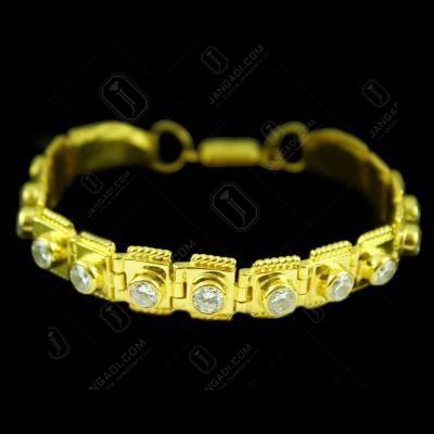 Zircon Stone Magnet Lock Bracelet