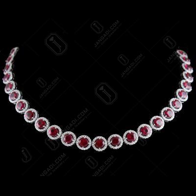 Swarovski Circle Partywear Necklace