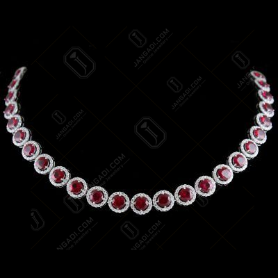 Swarovski Circle Partywear Necklace