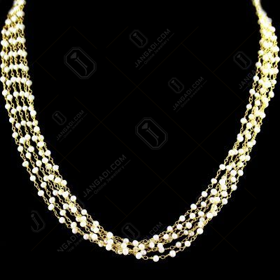 PEARL BUNCH NECKLACE
