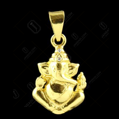 GOLD PLATED LORD GANESHA PENDENT