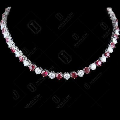 Solitaire Zircon Stone Necklace