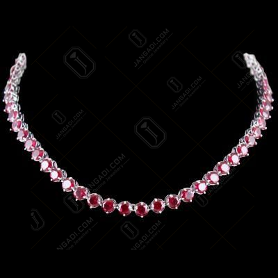 Solitaire Zircon Stone Necklace