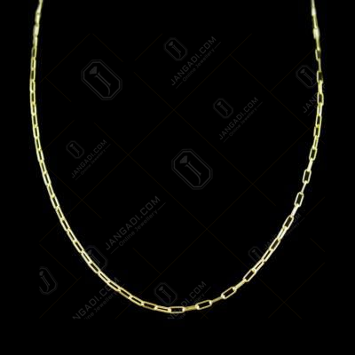 Gold Plated Fancy Chain