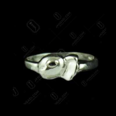 Silver Appu Baby Ring