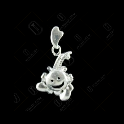 Silver Smiley Design Pendant
