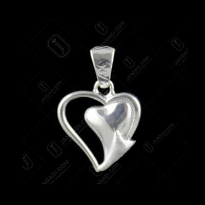 Silver Heartin Casual Pendant