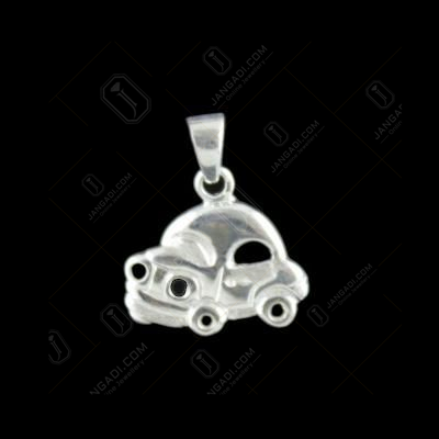 Silver Car Design Pendant