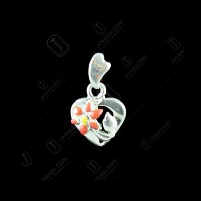 Silver Heartin Design Pendant