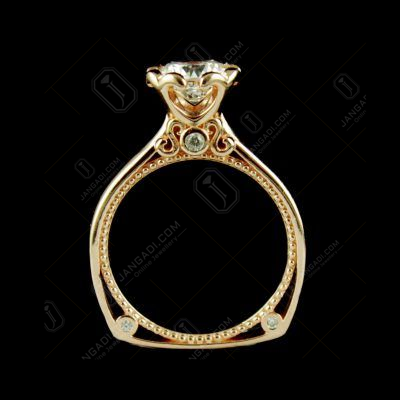 ROSE GOLD PLATED CZ RING