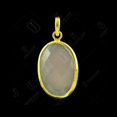 Gold Plated Bezel Design Pendant