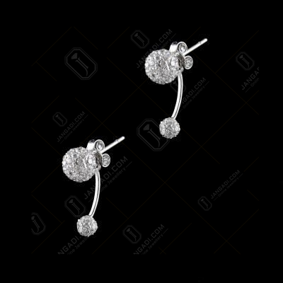 PARTY WARE CZ DROPS EARRINGS