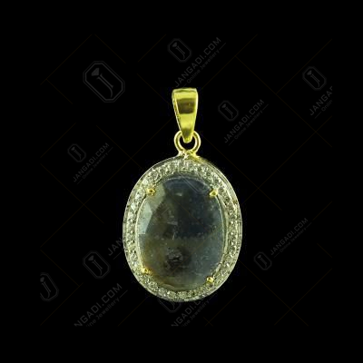 GOLD PLATED CZ WITH AGATE PENDANTS