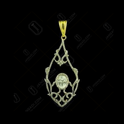 GOLD PLATED CZ STONE PENDANTS