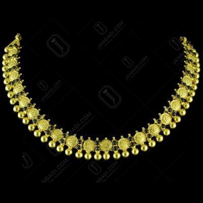 GOLD PLATED LAKSHMI NECKLACES
