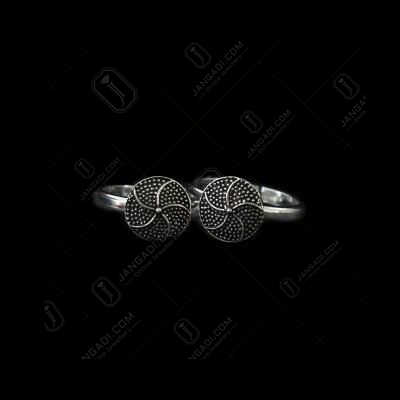 OXIDIZED SILVER TOE RINGS