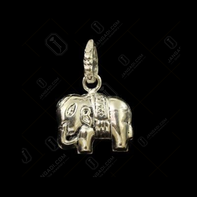 OXIDIZED SILVER ELEPHANT PENDANTS
