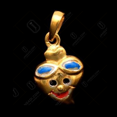 GOLD PLATED BABY PENDANT