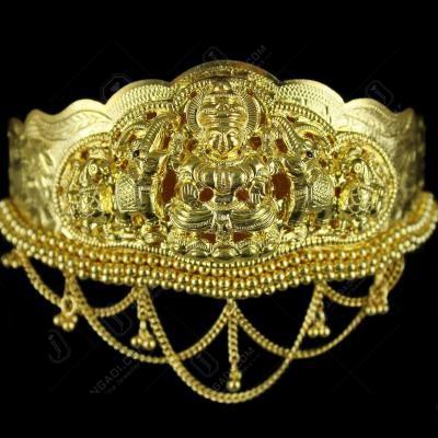Gold Plated Nagas Lakshmi Vanki