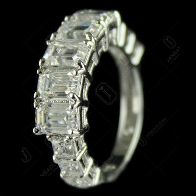 92.5 Sterling Silver Studded Swarovski Stones