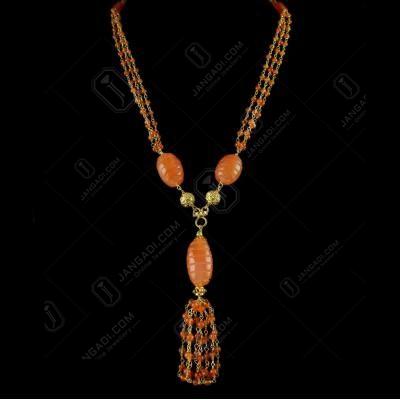 Fancy Beads Bunch Chain With Bezel