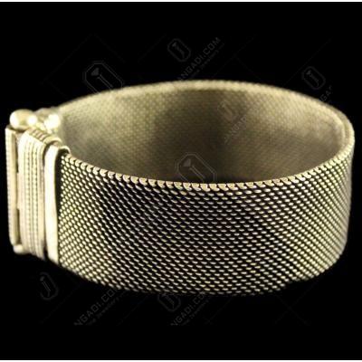 Silver Oxidized Fancy Design Bracelets