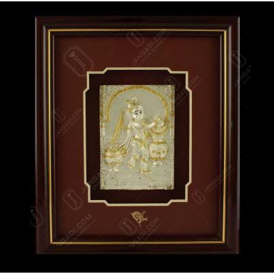 Lord Baby Krishna Photo Frame