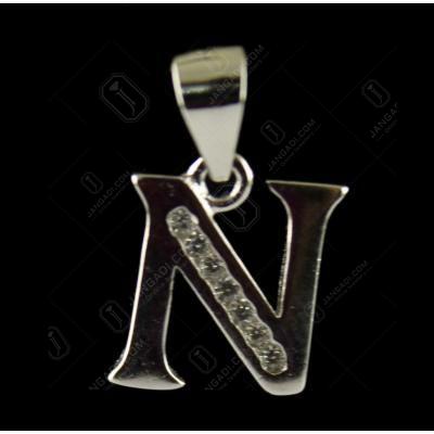 92.5 Sterling Silver Pendant Studded Semi Precious Stones