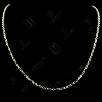 92.5 Sterling Silver Machine Made Chain